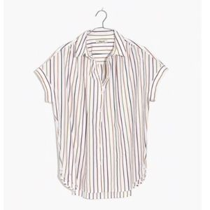 MAdewell Central Shirt Medium Sadie Stripe Blouse